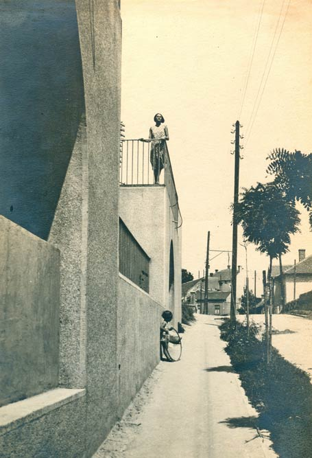 Part of the street front. A photograph from the 1930s