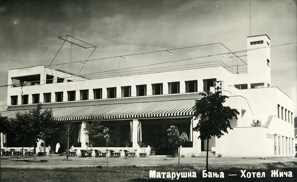 Hotel Žiča, razglednica iz 1930-tih godina