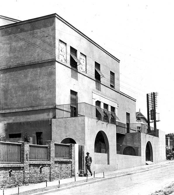 Villa Kaja, Zloković's house, view from Janka Veselinovića street. A photograph from the 1930s