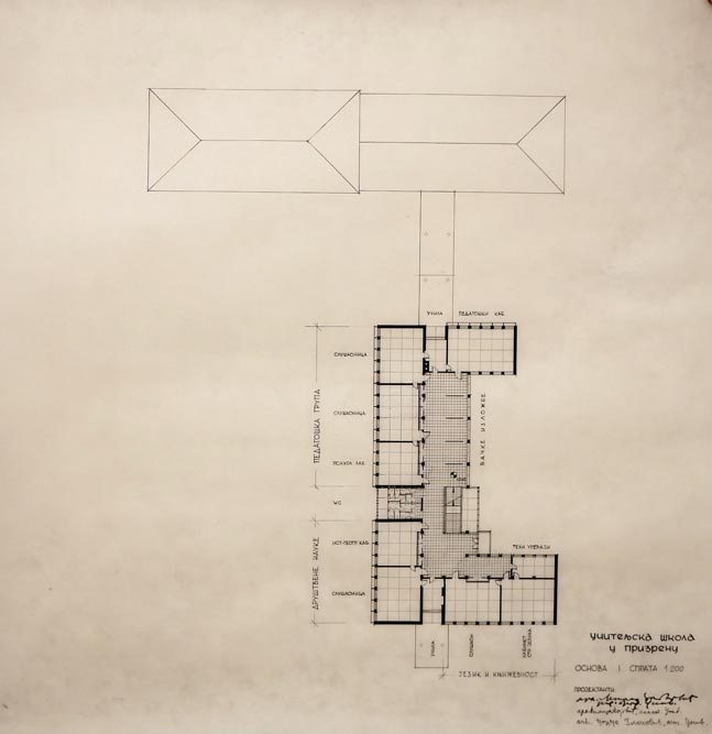 First floor layout plan
