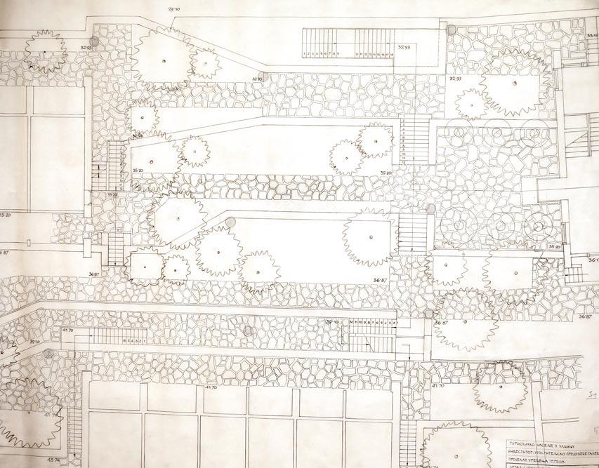 Landscape design, segment