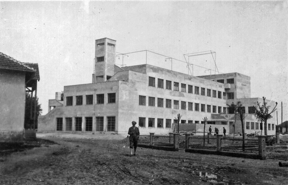 Zadnja strana hotela, fotografija iz 1930-tih godina