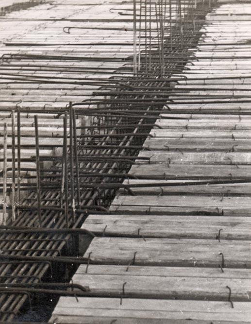 Mezzanine slab reinforcement