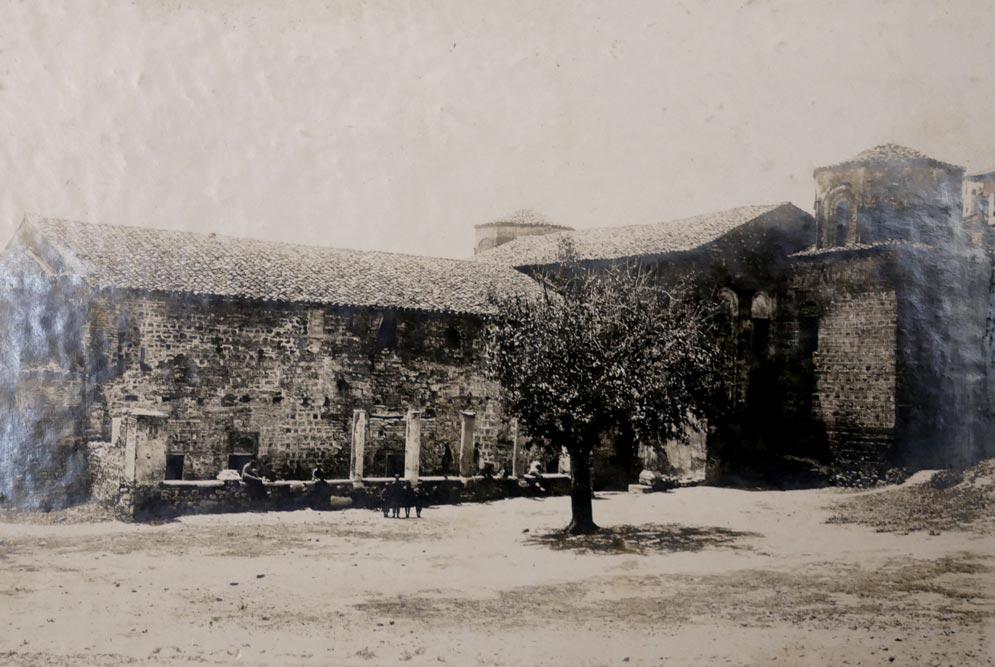 Crkva Sv. Sofije u Ohridu, zapadna strana, fotografija iz 1923. godine