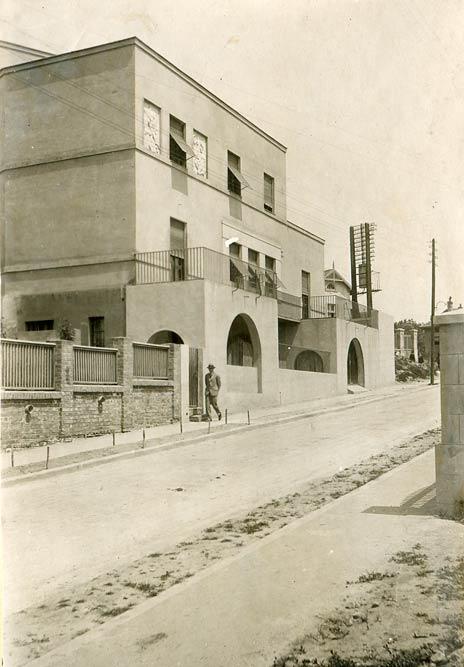 Villa Kaja, view from Janka Veselinovića Street. A photograph from the 1930s