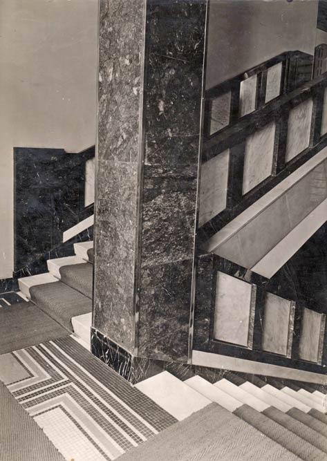 Detalj stepeništa, fotografija