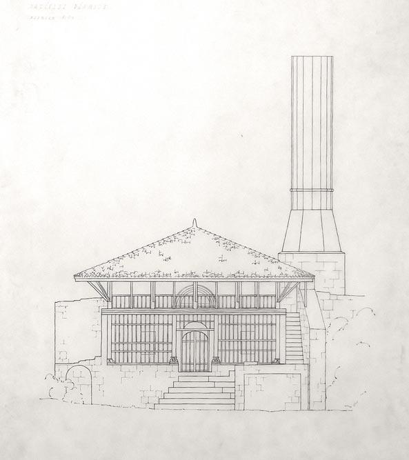 Džamija u Ulcinju, prednji izgled
