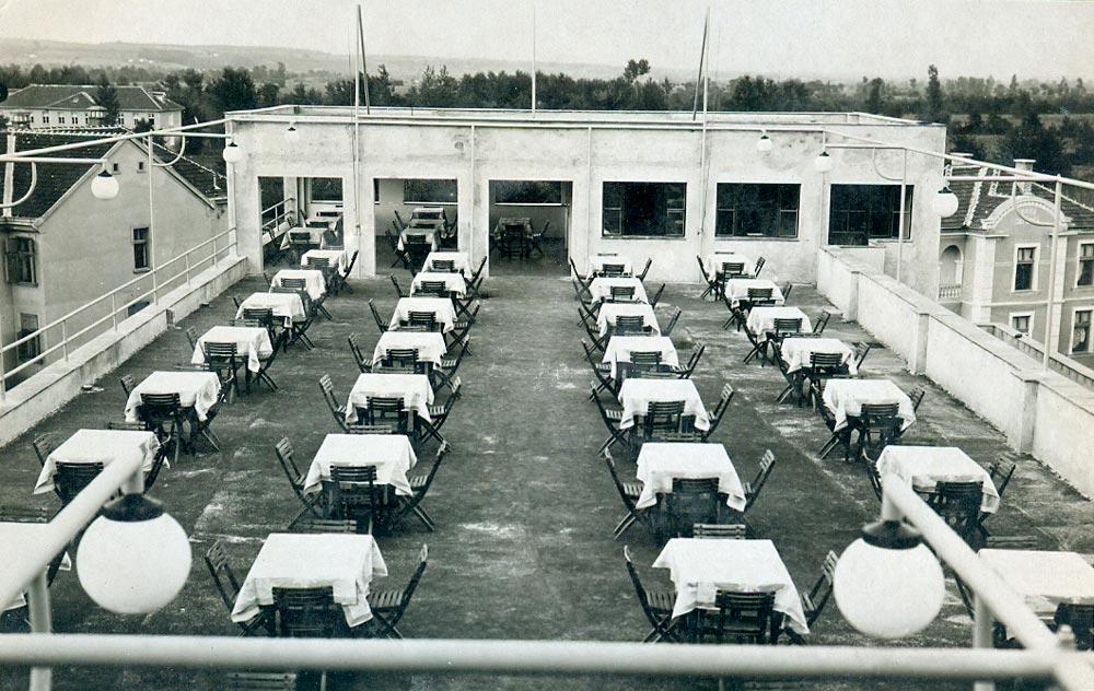 Krovna terasa, fotografija iz 1930-tih godina