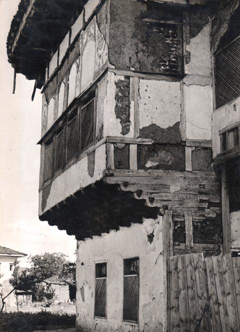 Konak Rauf-beg Džinića u Gnjilanu, segment fasade, fotografija s početka 1930-tih