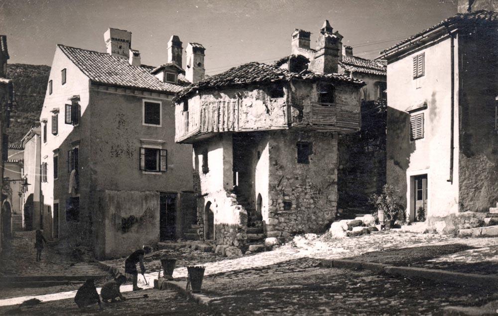 Turska kuća u Bakru (Rijeka, HR), fotografija s početka 1930-tih