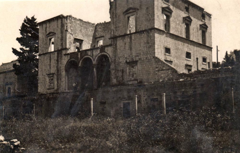"""Palata """"Skočibuha"""" na Boninovu u Dubrovniku. Snimljeno tokom ekspedicije oko 1930. godine"""
