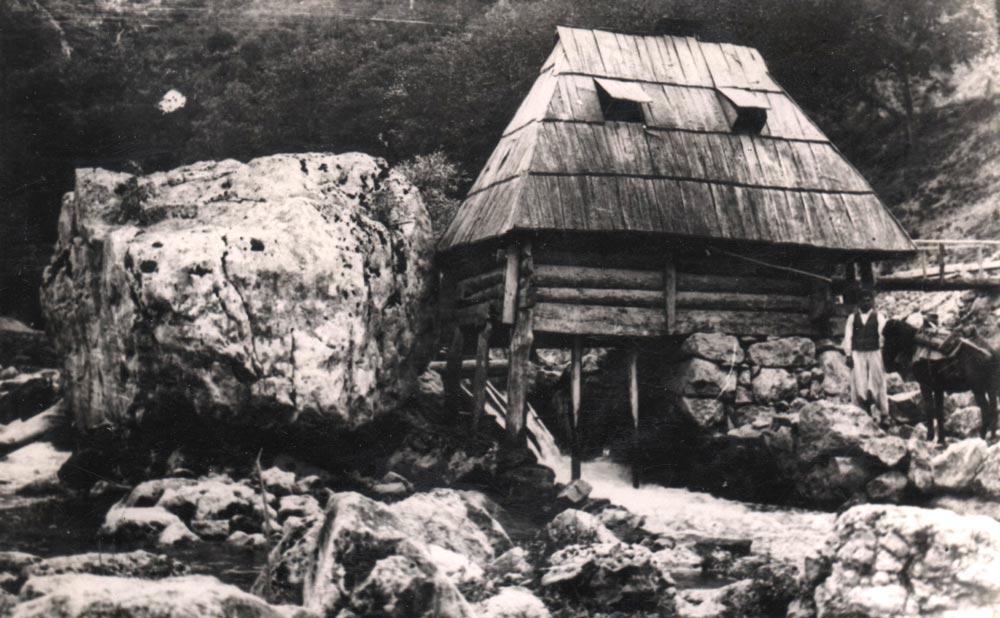 Vodenica na Plivi (Bosna i Hercegovina), fotografija iz 1930-tih