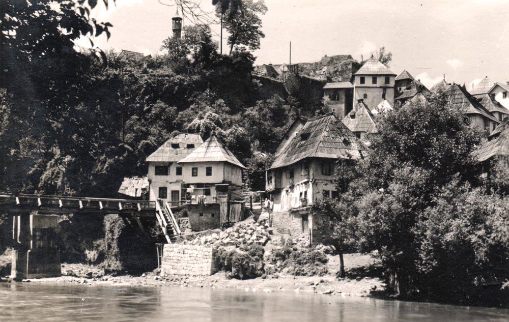 Jajce (Bosna i hercegovina), panorama, fotografija iz 1930-tih