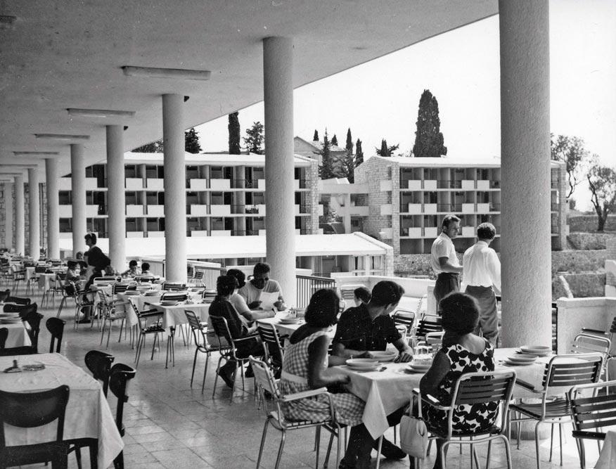 Restaurant terrace, photo