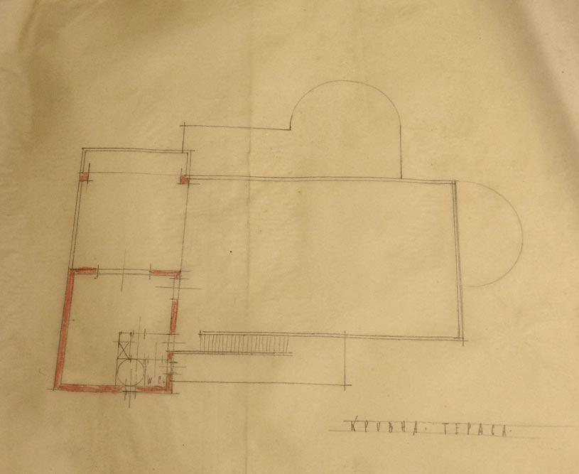 Osnova krovne etaže
