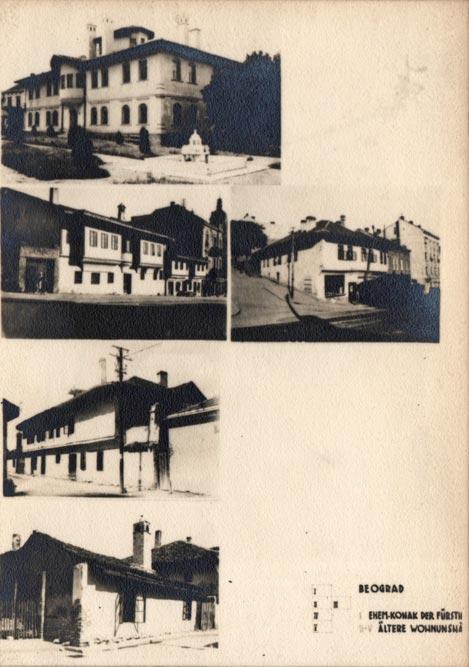 Jugoslaviens Balkanische Holzarchitekturen (1940): balkansko-otomanska arhitektura u Beogradu