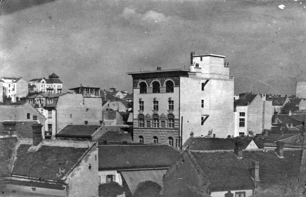 View of the building of Josif Šojat in Kralja Milutina Street, photograph from 1926