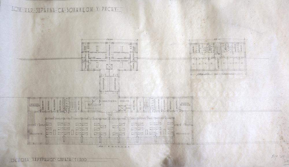 Surgical floor plan