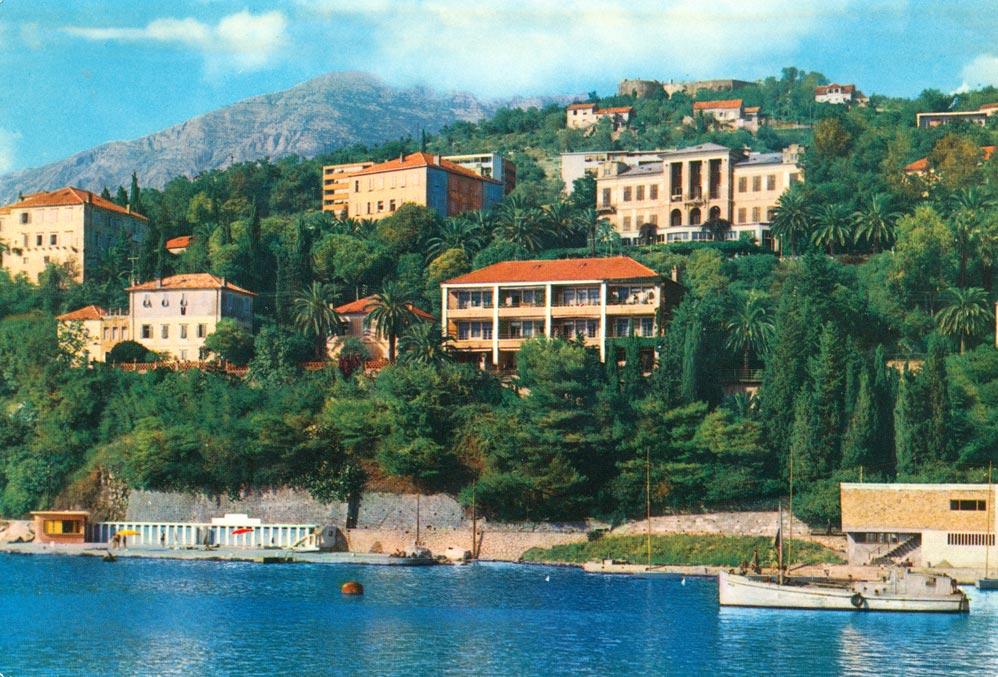 Vila Rivijera, razglednica iz 1960-tih godina