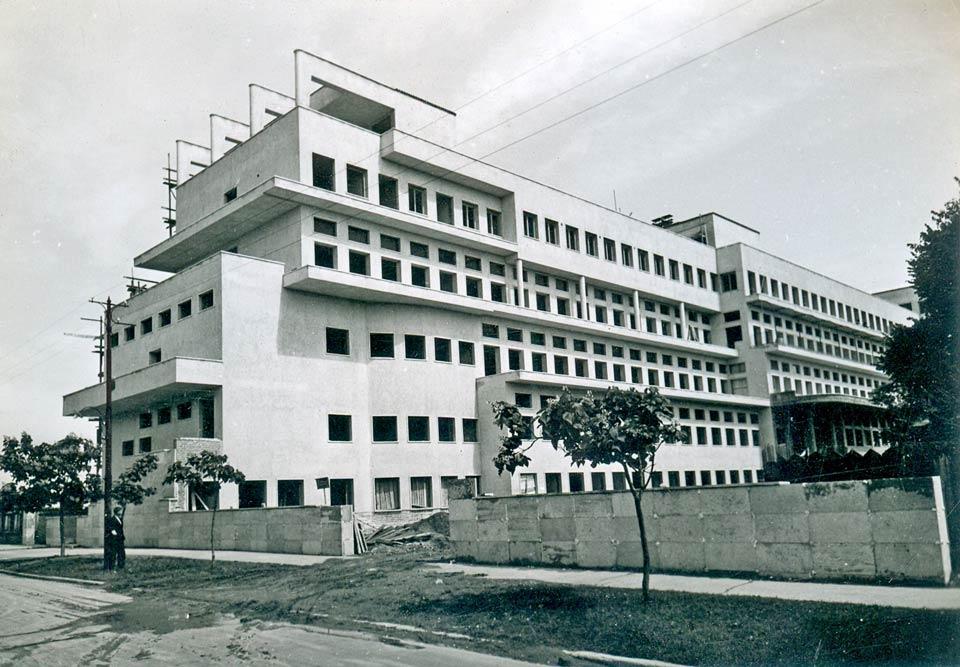 View of the main facade
