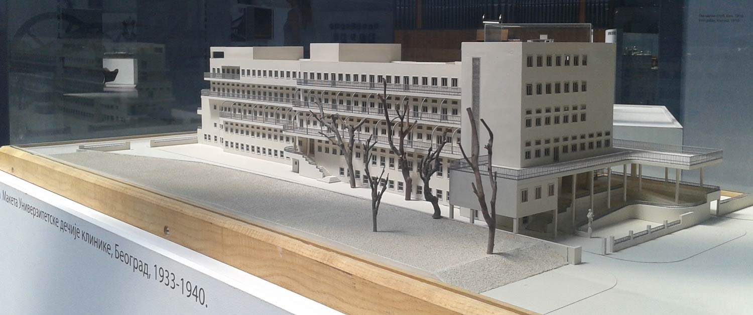 University Children's Clinic, Model, Museum of Science and Technology