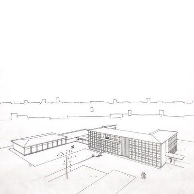 Školski kompleks (Učiteljska i Viša pedagoška škola)